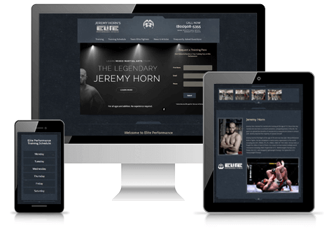 Webaholics Jeremy Horn Elite Performance
