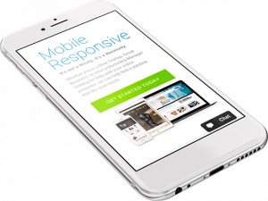 mobile responsive web design on an Apple iphone6
